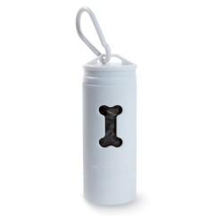 Latarka LED z pojemnikiem na w